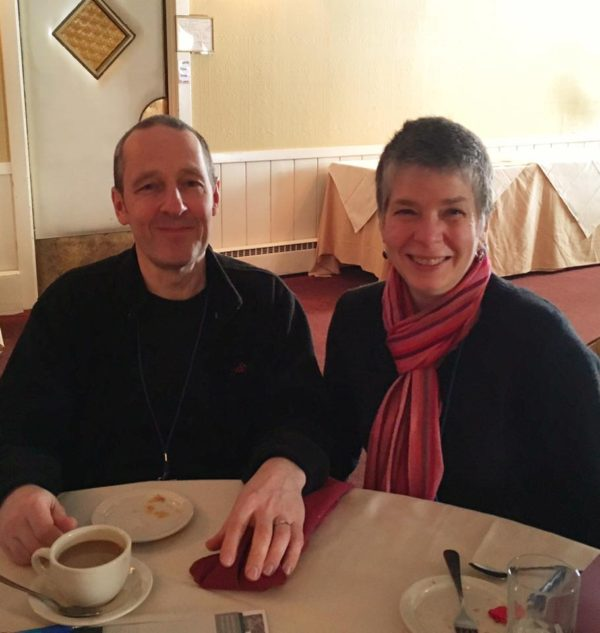 Robert and Suzanne Trevellyan, 2017
