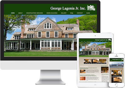George Lagonia Jr. Inc Construction Website development