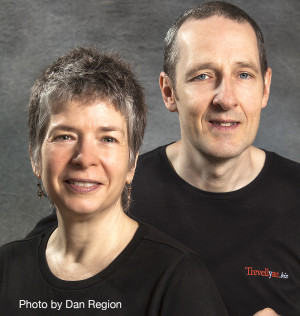 Photo of Suzanne and Robert Trevellyan, owners of Trevellyan.biz