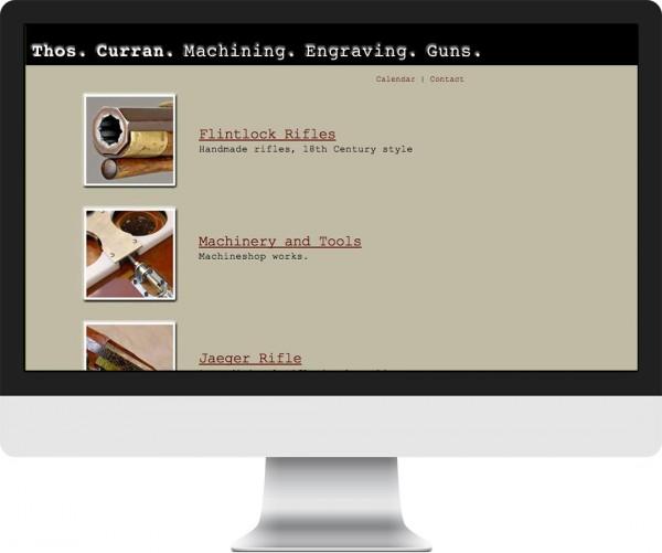Monster Machine website on desktop, tablet and phone