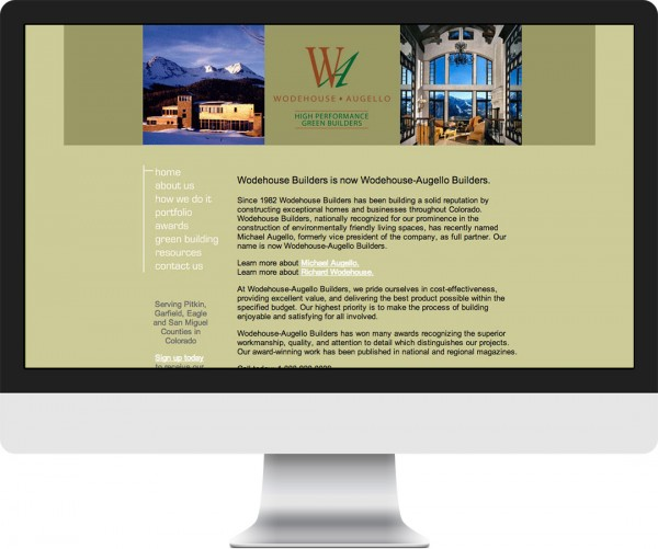 Creative Building Systems website on desktop, tablet and phone