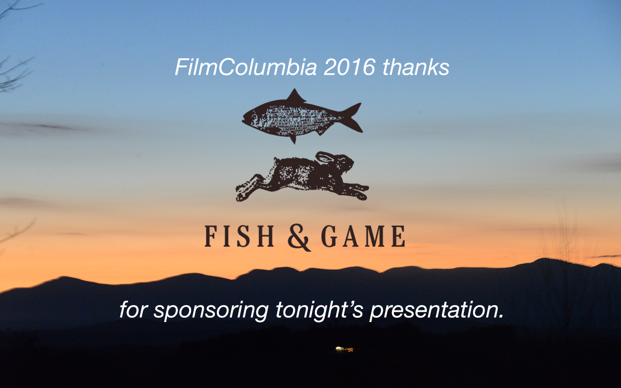 FilmColumbia 2016 Sponsorship slide