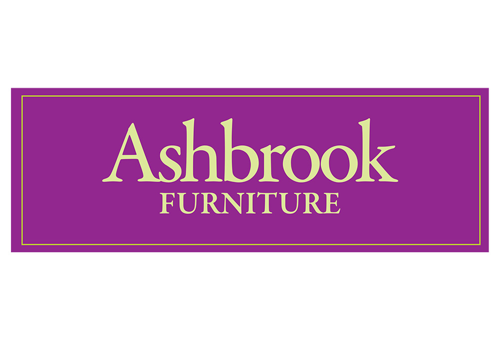 Ashbrook Furniture logo - designed by Trevellyan.biz, Columbia County, NY graphic designer
