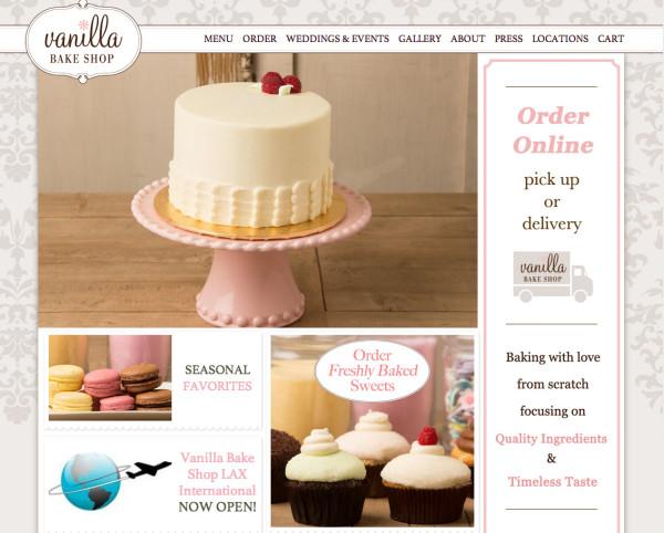 Best Bakery Websites