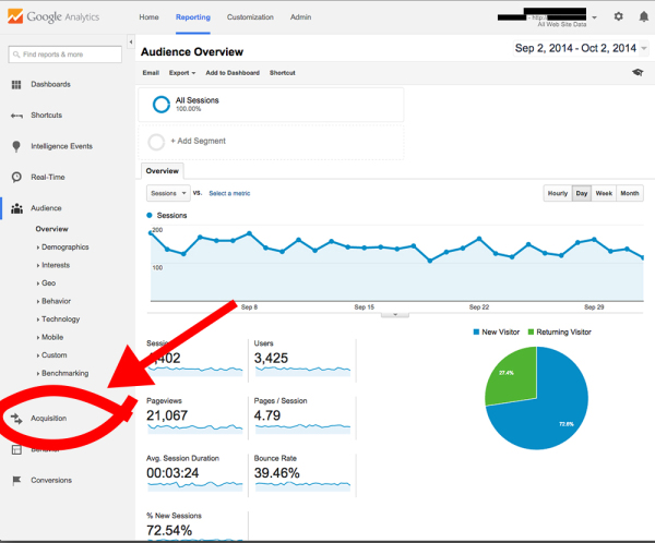 How to remove Semalt from Google Analytics: Step 3