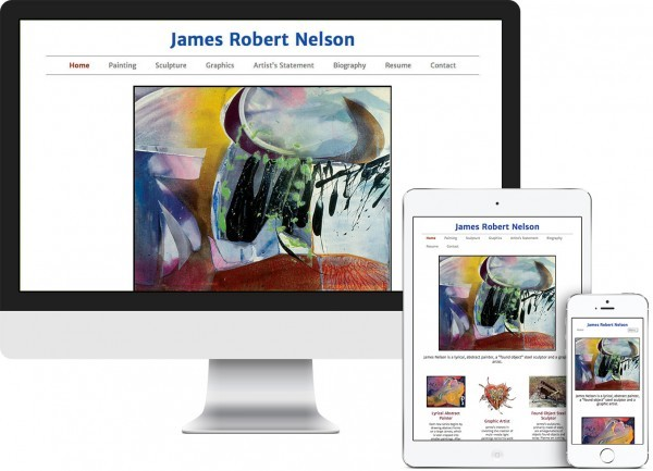 James R. Nelson. Columbia County, NY website on desktop, tablet and phone