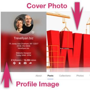 Google Plus Cover Photo and Profile Picture