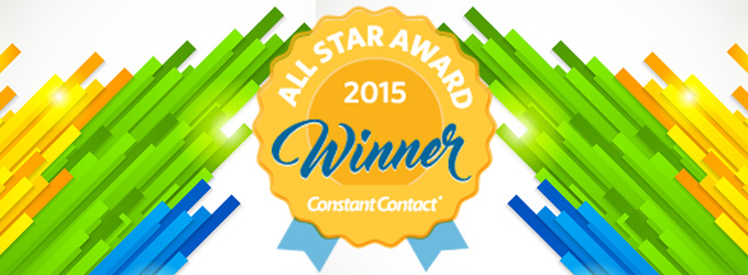 We're A Constant Contact All-Star!