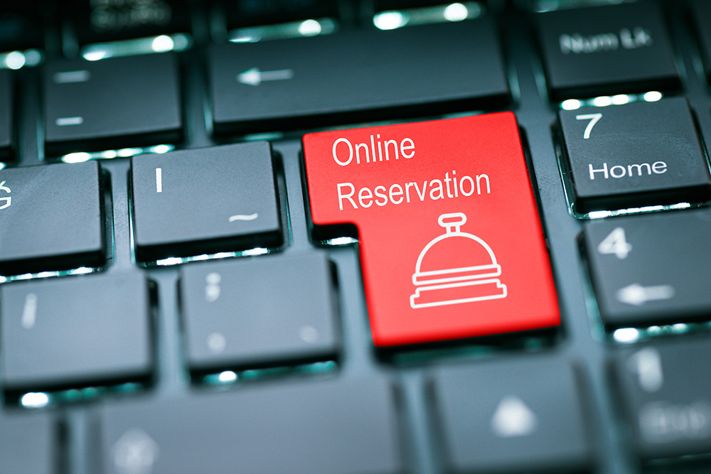 Lodging Website Building Tips including setting up an online reservation system