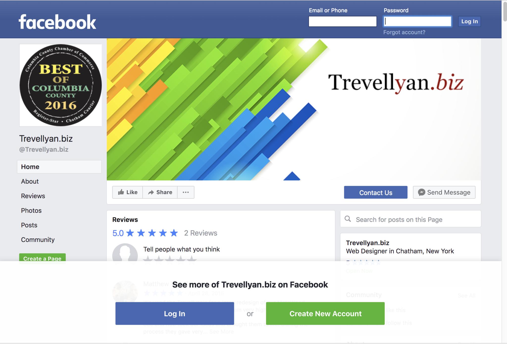 Is Facebook Enough