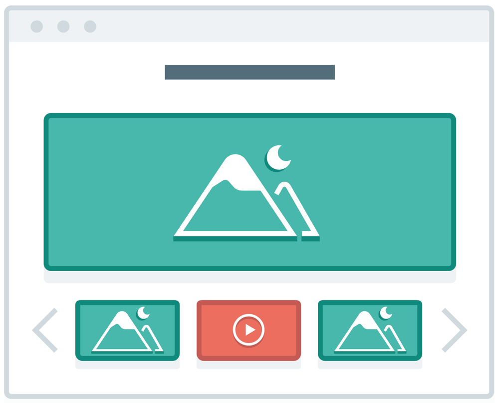 website image sliders