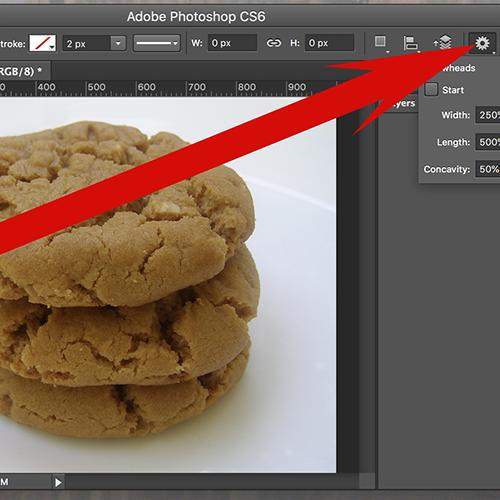 How to Draw Arrows in Adobe Photoshop CS6