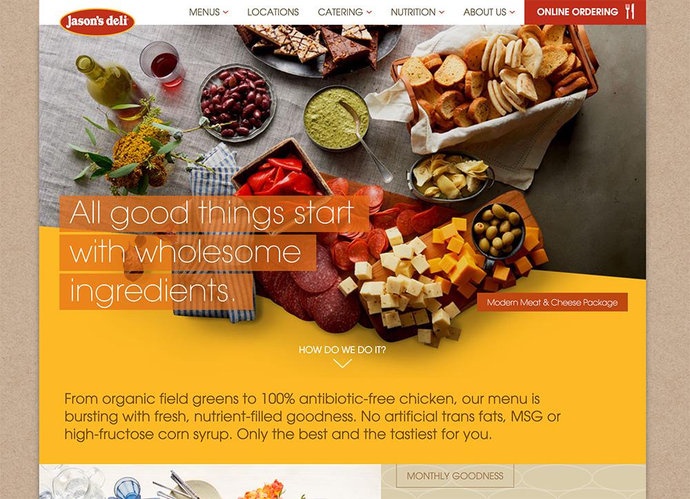 Deli Websites - Jason's Deli